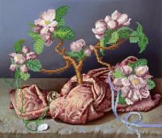 Рисунок на ткани для вышивки бисером Магнолии Марiчка (Маричка) РКП-062