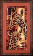 Набор для вышивки бисером Африка. Жирафы