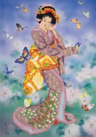 Рисунок на ткани для вышивки бисером Восточная красавица Марiчка (Маричка) РКП-058 - 92.00грн.