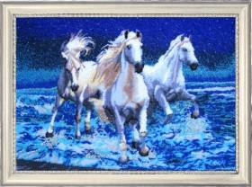 Набор для вышивки бисером Белая тройка, , 752.00грн., 576Б, Баттерфляй (Butterfly), Большие наборы