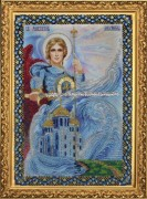 Набор для вышивки бисером иконы Святой Архангел Михаил