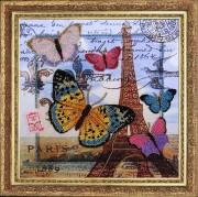 Набор для вышивки бисером Привет из Парижа