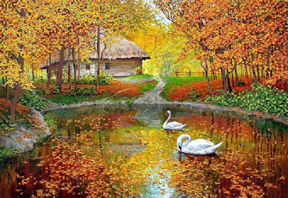фото осень рисунки