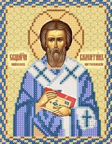 Рисунок на ткани для вышивки бисером  Епископ Валентин Интераминский