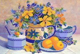 Рисунок на ткани для вышивки бисером Абрикосовый джем