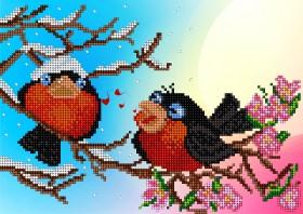 Рисунок на ткани для вышивки бисером Песня любви А-строчка АК4-002 - 51.00грн.