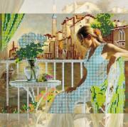 Рисунок на холсте для вышивки бисером Утро в Венеции