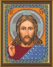 Рисунок на ткани для вышивки бисером Христос Спаситель Новая Слобода (Нова слобода) bis9001
