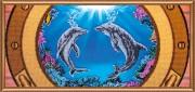 Набор для вышивки бисером Дельфины