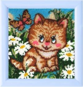 Рисунок на атласе для вышивки бисером Котенок Баттерфляй (Butterfly) 933Б - 20.00грн.