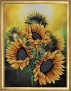 Набор для вышивки бисером Отражение солнца