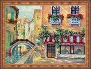 Набор для вышивки бисером Венецианское кафе