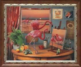 Набор для вышивки бисером Фантазии моря, , 472.00грн., 10511, Краса и творчiсть, Большие наборы