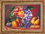 Набор для вышивки бисером Натюрморт с персиками