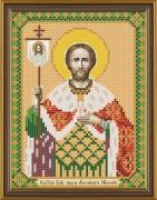 Рисунок на ткани для вышивки бисером Св. Князь Александр Невский
