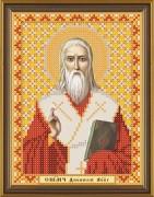 Рисунок на ткани для вышивки бисером Св. Мч. Дионисий