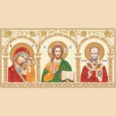 Набор для вышивки бисером Домашний иконостас Марiчка (Маричка) НИК-3-001