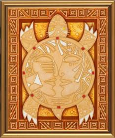 Набор для вышивки бисером Символ мудрости и долголетия, , 208.00грн., ДК3005, Новая Слобода (Нова слобода), Схемы и наборы для вышивки бисером по Фен шуй