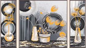 Рисунок на ткани для вышивки бисером Жёлтые цветы Новая Слобода (Нова слобода) В32006 - 157.00грн.