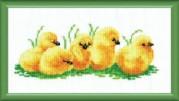 Набор для вышивки крестом Цыплятки