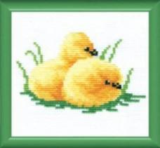 набор для вышивки крестом Цыплята Чарiвна мить (Чаривна мить) №318