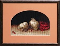 набор для вышивки крестом Цыплята Чарiвна мить (Чаривна мить) 540