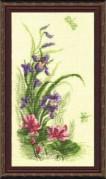 Набор для вышивки крестом Цветы