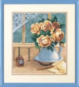 Набор для вышивки крестом Натюрморт с розами