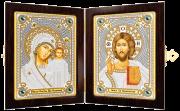 Набор для вышивки бисером Богородица Казанская и Христос Спаситель