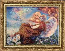 Набор для вышивки бисером Ангельский мотив (по мотивам картины J. Wall Баттерфляй (Butterfly) 453Б