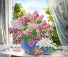Рисунок на ткани для вышивки бисером Душистая сирень Марiчка (Маричка) РКП-172
