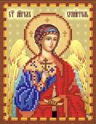 Рисунок на атласе для вышивки бисером Ангел Хранитель