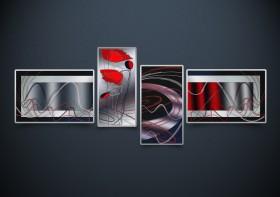 Полиптих. Рисунки на атласе для вышивки бисером Этюд с маками А-строчка АР2-002 - 433.00грн.