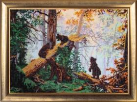 Набор для вышивки бисером Утро в сосновом лесу, , 752.00грн., 594Б, Баттерфляй (Butterfly), Большие наборы