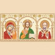Рисунок на ткани для вышивки бисером Домашний иконостас