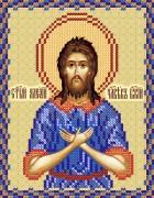 Рисунок на ткани для вышивки бисером Св. Алексий Человек Божий