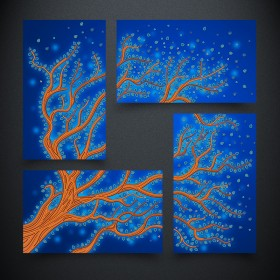 Схема вышивки бисером на атласе Дерево жизни. Вода А-строчка АРЗ-008 - 273.00грн.