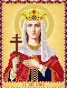 Рисунок на ткани для вышивки бисером Св. Великомученица Ирина