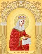Рисунок на атласе для вышивки бисером Св. Равноап. Царица Елена