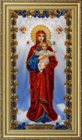 Набор для вышивки бисером Икона Божьей Матери Благодатное Небо Картины бисером Р-177 - 1 320.00грн.