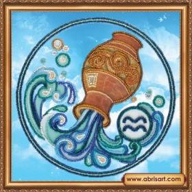 Набор для вышивки бисером Знак Зодиака. Водолей, , 160.00грн., АВ-332-11, Абрис Арт, Гороскоп