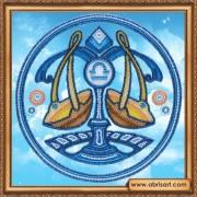 Набор для вышивки бисером Знак Зодиака.. Весы