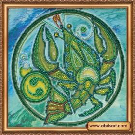 Набор для вышивки бисером Знак Зодиака. Рак, , 160.00грн., АВ-332-04, Абрис Арт, Гороскоп
