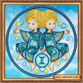 Набор для вышивки бисером Знак Зодиака. Близнецы, , 160.00грн., АВ-332-03, Абрис Арт, Гороскоп