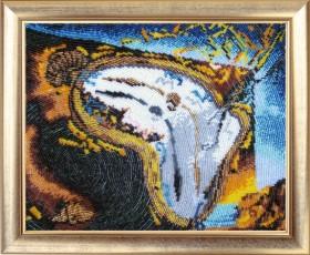 Набор для вышивки бисером Время течет, , 475.00грн., 238Б, Баттерфляй (Butterfly), Схемы и наборы для вышивки бисером по Фен шуй