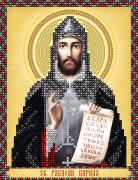 Рисунок на ткани для вышивки бисером Св. Равноап. Кирилл