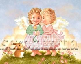 Рисунок на ткани для вышивки бисером Ангелочки Княгиня Ольга СД-147 - 24.00грн.