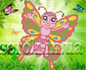 Рисунок на ткани для вышивки бисером Бабочка Княгиня Ольга Сд-116 - 24.00грн.