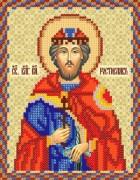 Рисунок на ткани для вышивки бисером Св. Блгв. Кн. Ростислав