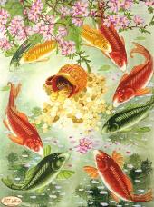 Рисунок на ткани для вышивки бисером Хранители клада Tela Artis (Тэла Артис) ТК-036